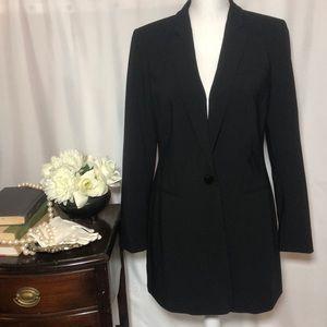 Calvin Klein long Jacket size 8